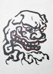 般若寺「木造文殊菩薩騎獅像」