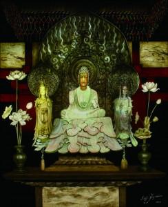 「法隆寺金堂 釈迦三尊像」ⓒSeiji Fujishiro/Hori Pro 2016
