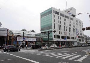奈良県内の最高路線価となった奈良市東向中町の大宮通り