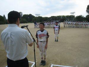 学童軟式野球大会2