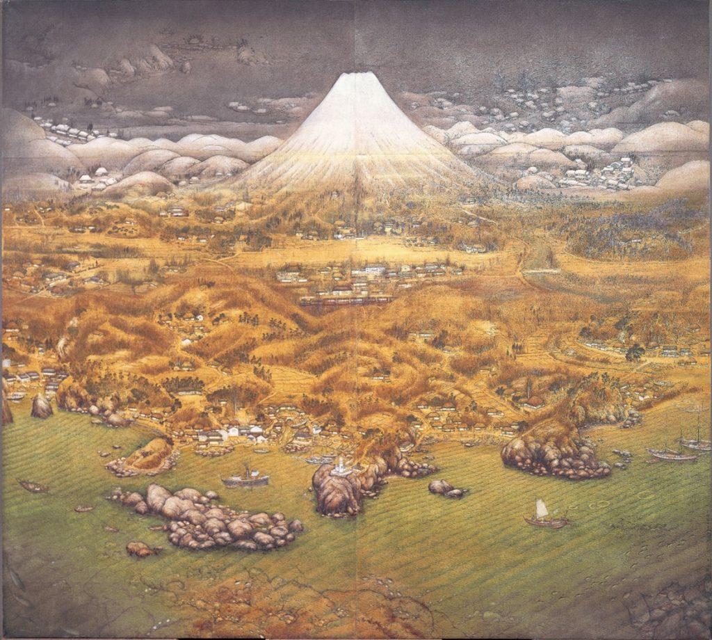 大正14(1925)年 第6回帝展出品作 木下美術館蔵