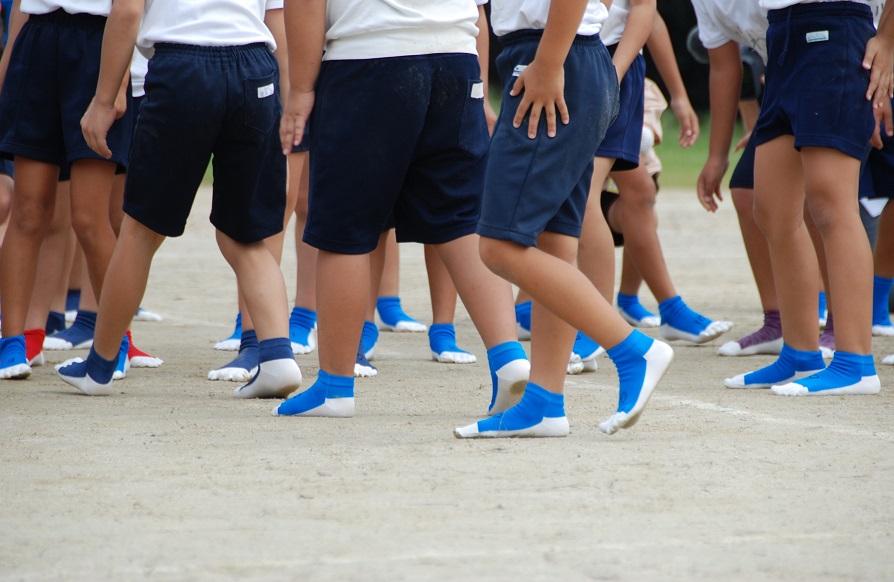 裸足感覚でスポーツができる「はだし靴下」